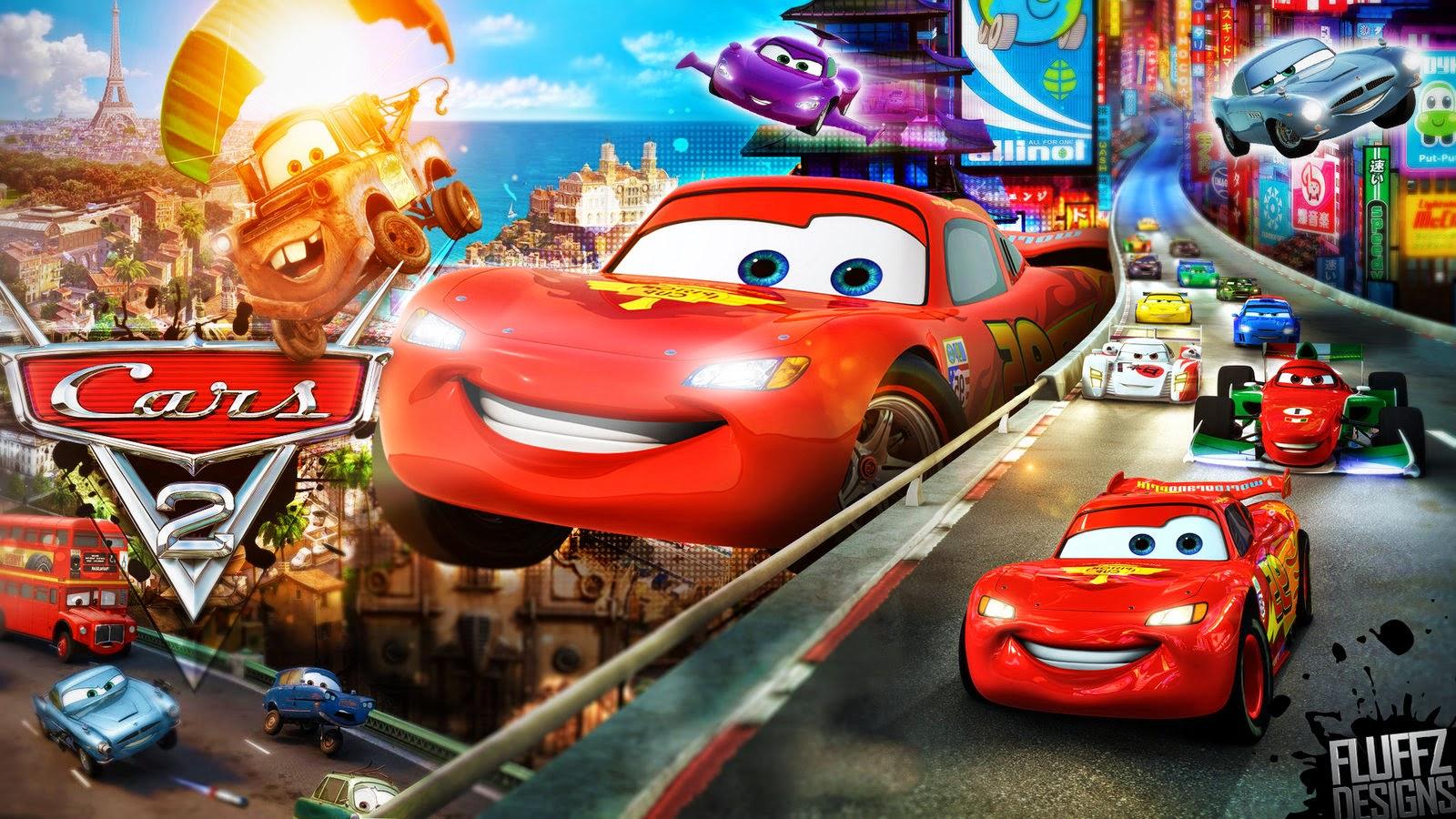 Disney's Cars 2 - Wallpaper