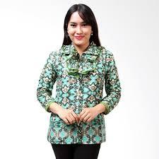 Model Pakaian Batik Wanita Modern Terbaru