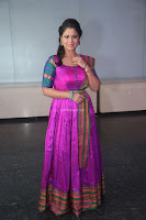 Shilpa Chakravarthy in Purple tight Ethnic Dress ~  Exclusive Celebrities Galleries 076.JPG