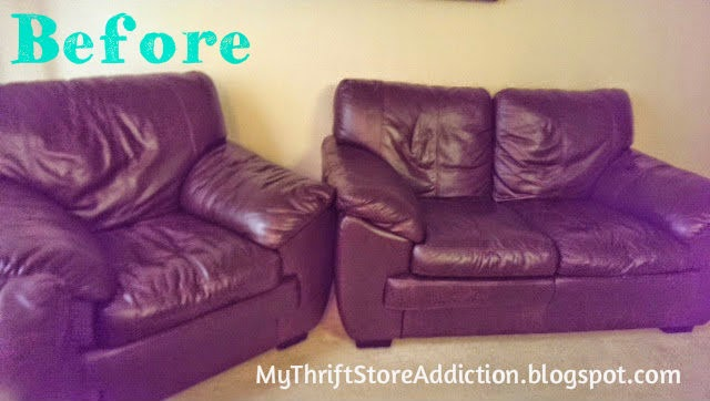 Make leather furniture cozy