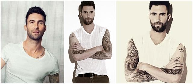 Brewok dan Jenggot Adam Levine Vokalis Maroon 5