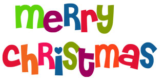 7 Cute Merry Christmas Clipart
