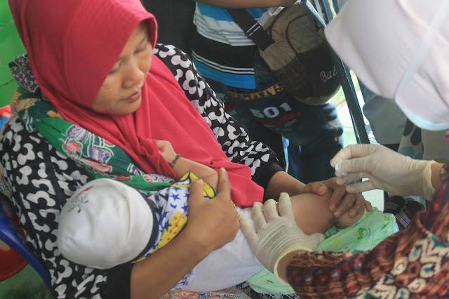 kegiatan imunisasi di posyandu