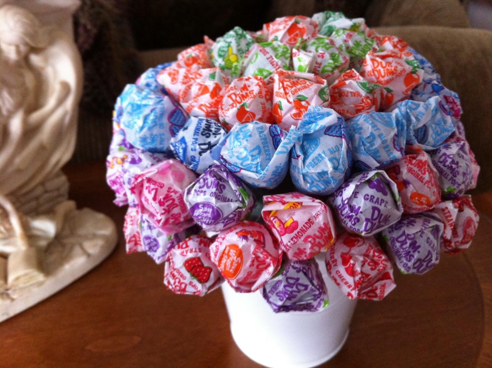 LaceofGrace: Candy Bouquets