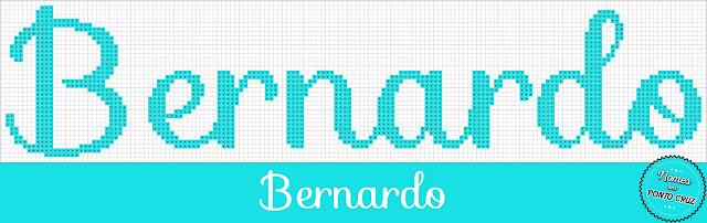 Nome Bernardo em Ponto Cruz