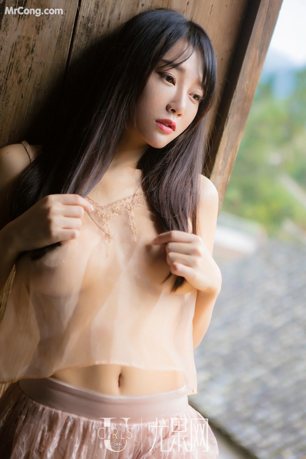 Image UGIRLS-U318-He-Jia-Ying-MrCong.com-036 in post UGIRLS U318: Người mẫu He Jia Ying (何嘉颖) (66 ảnh)