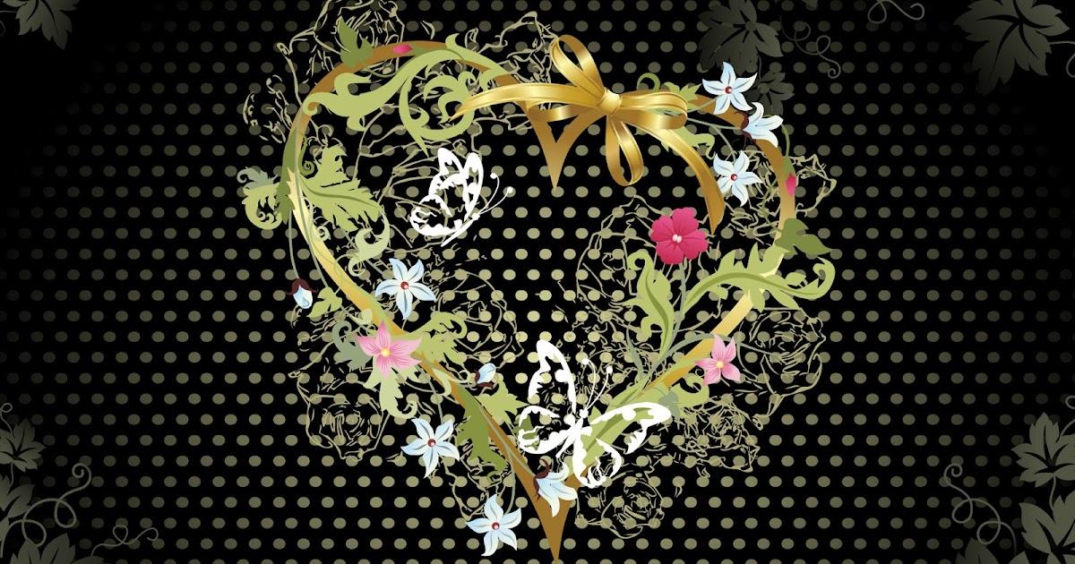 Fondos De Pantalla Animados De San Valentín: Fondo De Pantalla Dia De San Valentin Gran Corazon De