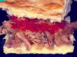 roti daging giling saus tomat