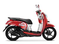Honda Scoopy eSP Sporty Merah