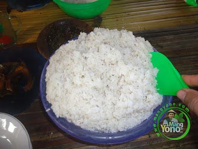 Nasi Kukus TRISAKTI pulen dan enak