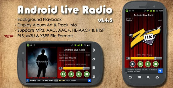 Android Live Radio app free Source code from Codecanyon | MagOne 2016