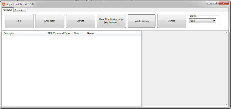 البرنامج القديم SUPER ONE CLICK لفتح صلاحية الروت