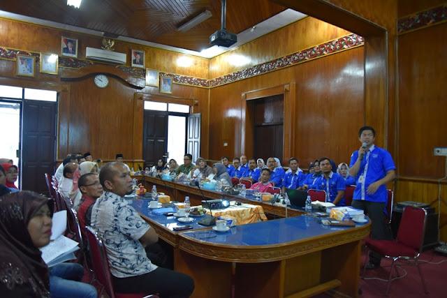 DPMPTP Padangpariaman Ikuti Kompetisi Inovasi Pelayanan Publik Sumbar 2018