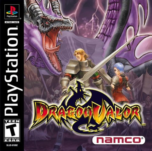 Dragon Valor PSX Portada