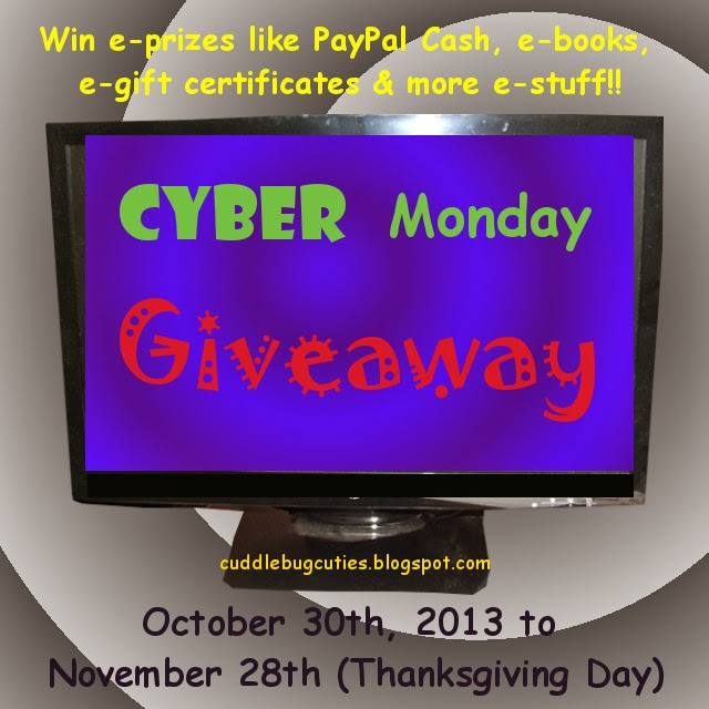 cyber monday sweepstakes cuddlebug cuties cyber monday giveaway 4737