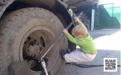 """كيف تقوم بتغيير اطار السياره """" الكاوتش """"  بكل سهوله"""