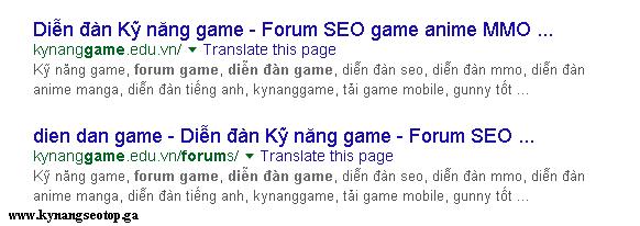 Hiển thị link bài viêt lỗi từ khóa trên google khi đặt textlink