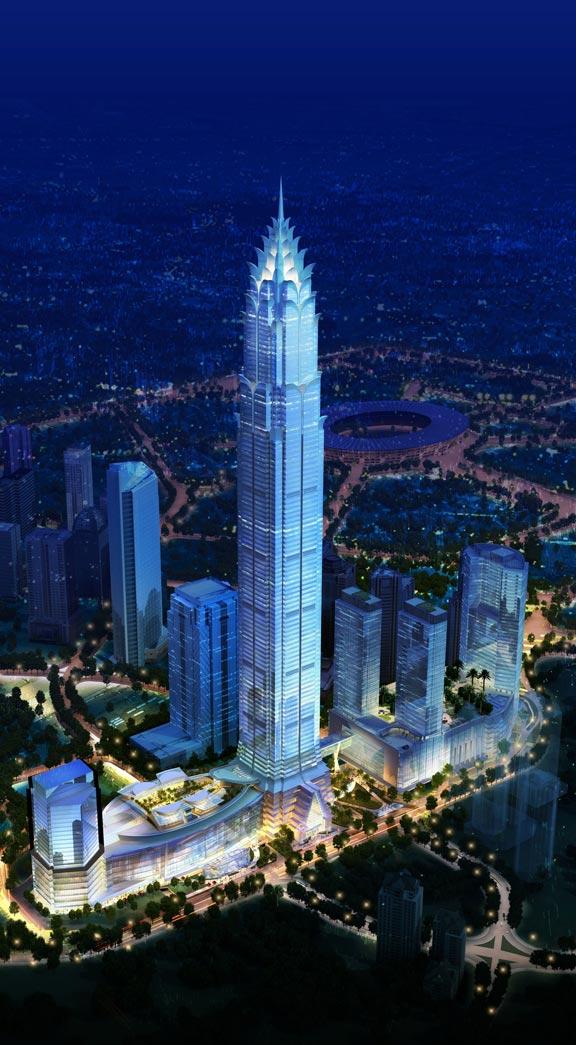 The Skyscraper Architecture Signature Tower Jakarta