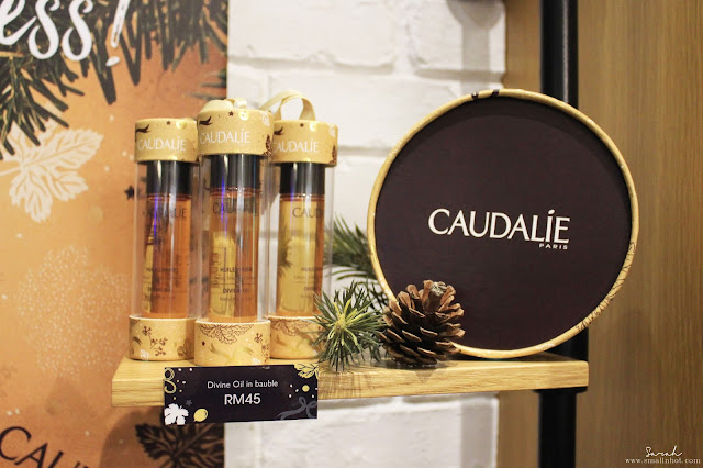 Caudalie christmas collection 2016; caudalie gift sets; caudalie holiday skincare collection; caudalie holiday gift set price; caudalie holiday elixir collection; Malaysia beauty online magazine; singapore beauty online magazine; must have caudalie holiday collection