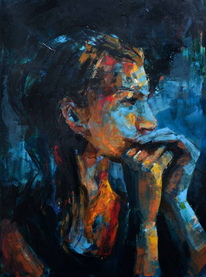 Portraiture Paintings by Sal Jones from London.