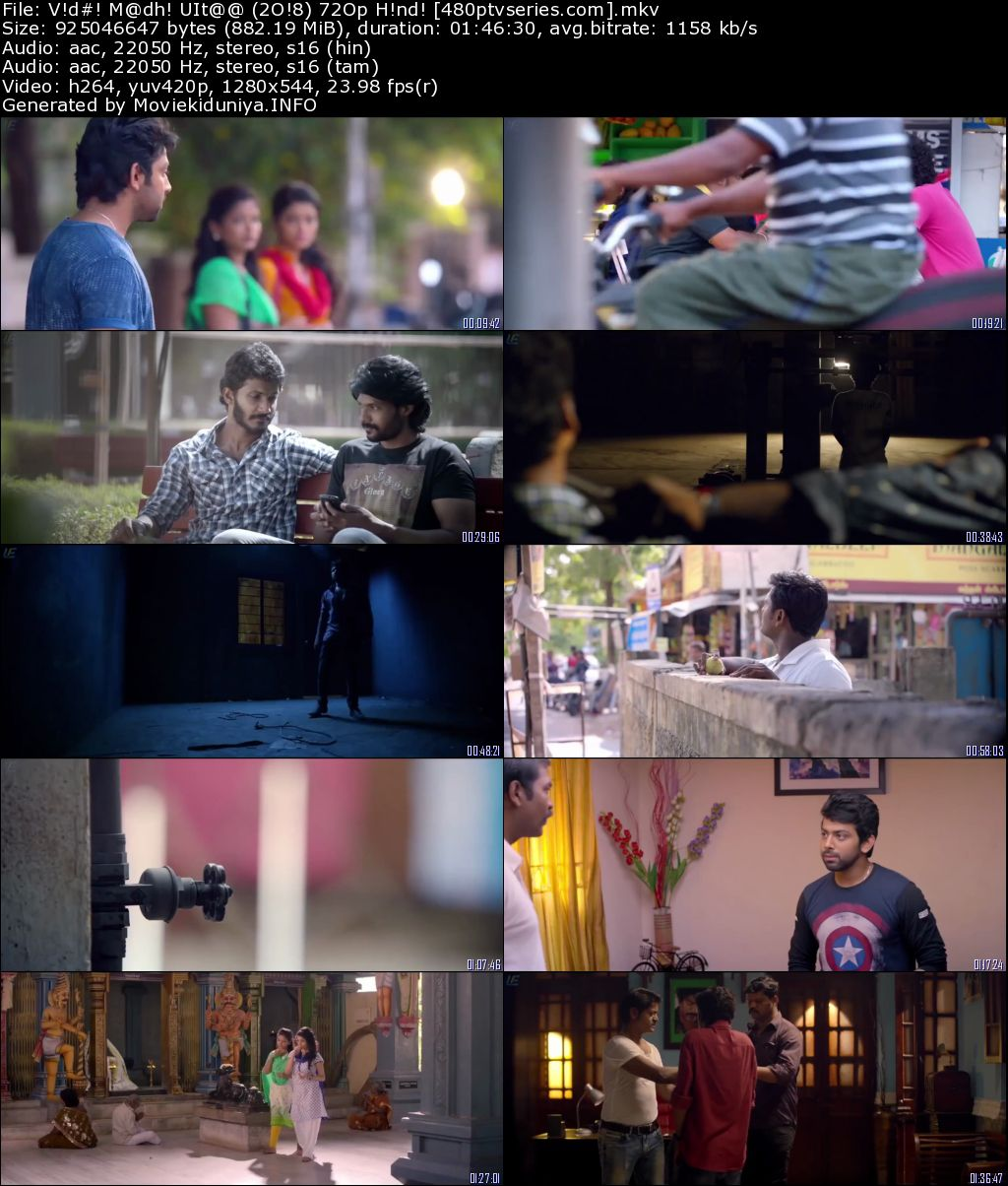 Vidhi Madhi Ultaa (2018) 850Mb Full Hindi Dual Audio Movie Download 720p HDRip Free Watch Online Full Movie Download Worldfree4u 9xmovies