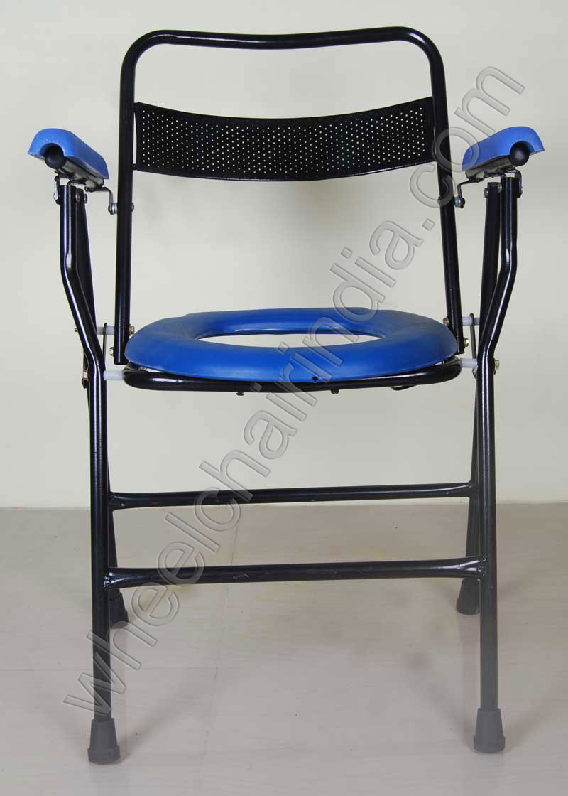 Commode Bedside Chair For Elderly Wheelchair India