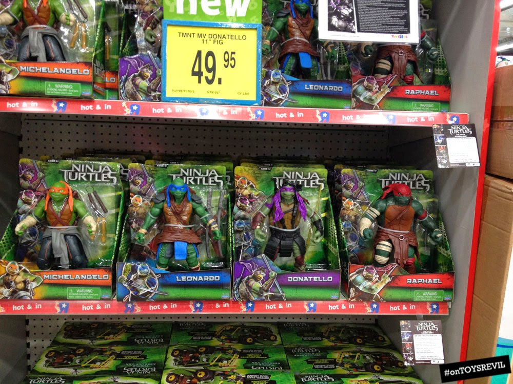 """Teenage Mutant Ninja Turtles"""" Movie Toys from Playmates & LEGO"""