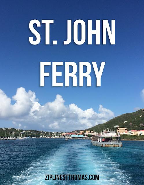 Ferry Between Us Virgin Islands