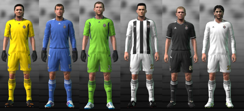 Partizan 11/12 Kit Set by Mare-93