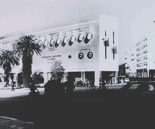 Radio, bâtiment, Architecture Sculpture, Guy Rottier, Maroc