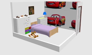 Ide Desain Kamar Anak Laki - Laki Tema Mobil