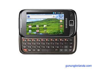 Cara Flashing Samsung Galaxy 551 GT-I5510