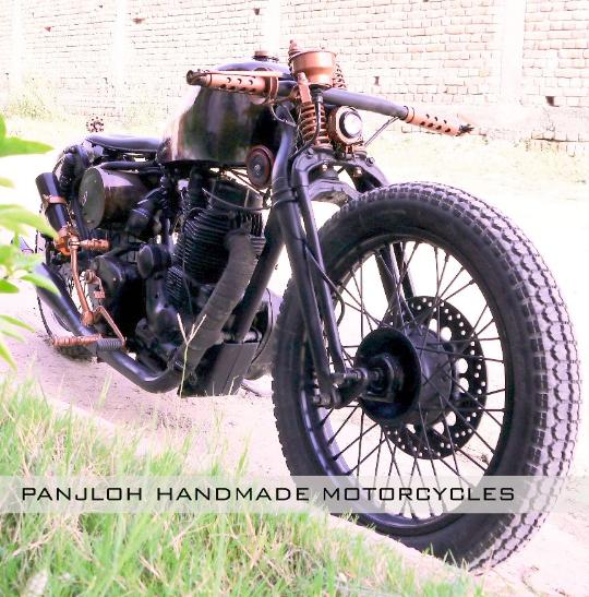 Panjloh Hand Made Motorcycles Bombard