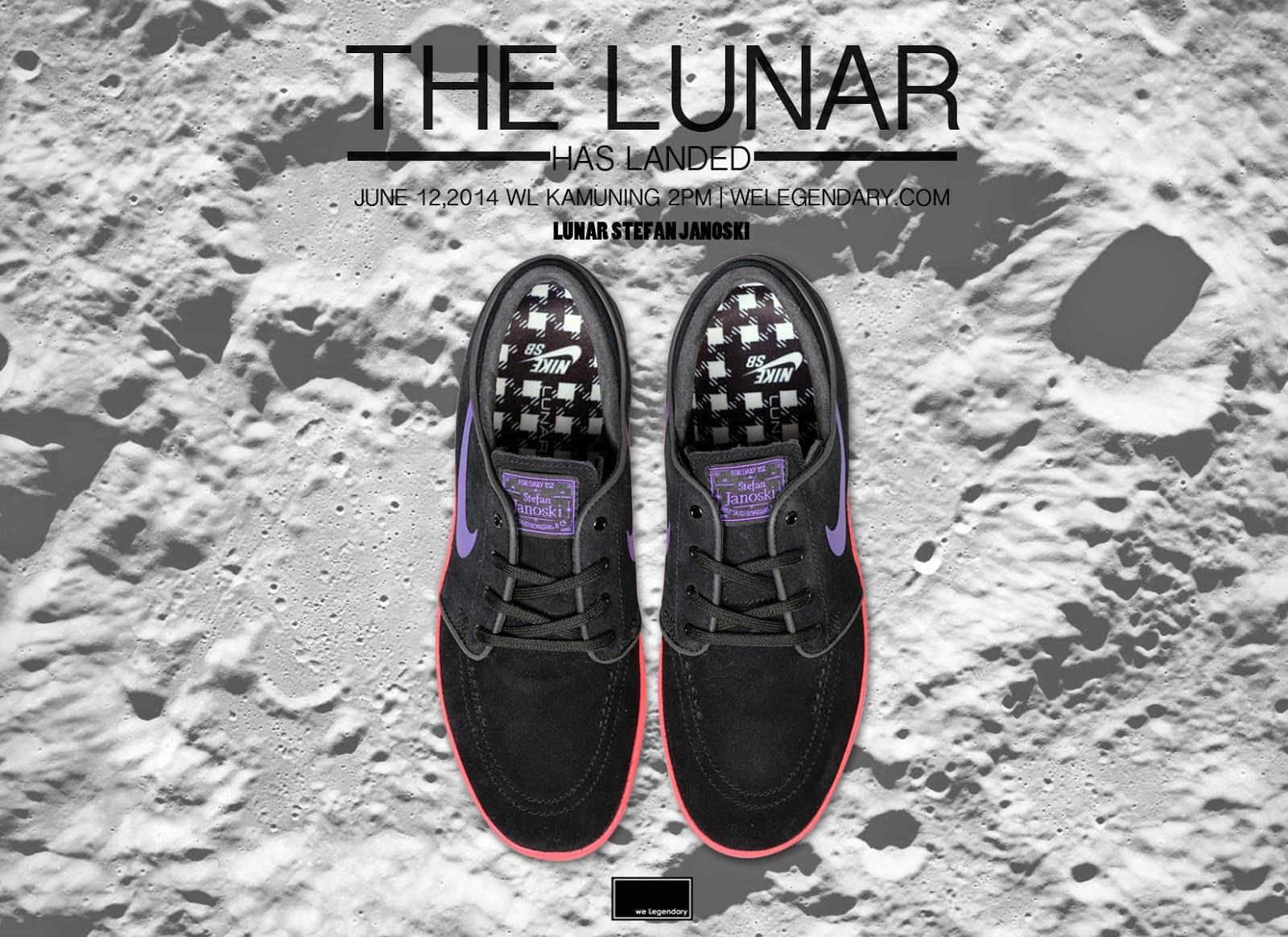low priced a335c 728f8 Nike SB Lunar Janoski Black   Hyper Grape - Hyper Punch Noir