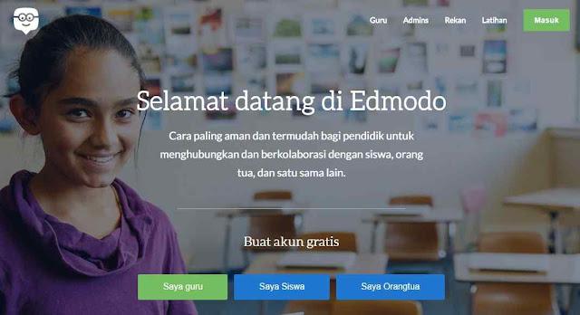 شرح لطريقة استخدام شبكة التعليم  التفاعلي EDMODO لربط الطلاب مع المدرسين وانجاز المهمات اونلاين