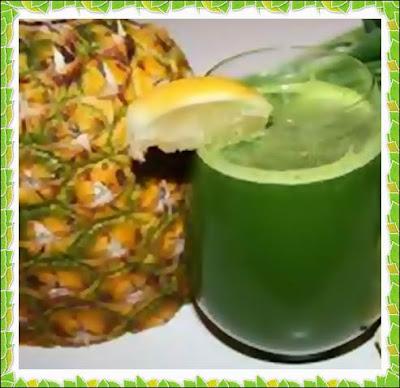 Preparare reteta simpla smoothie cu Kiwi, Ananas si fulgi de ovaz