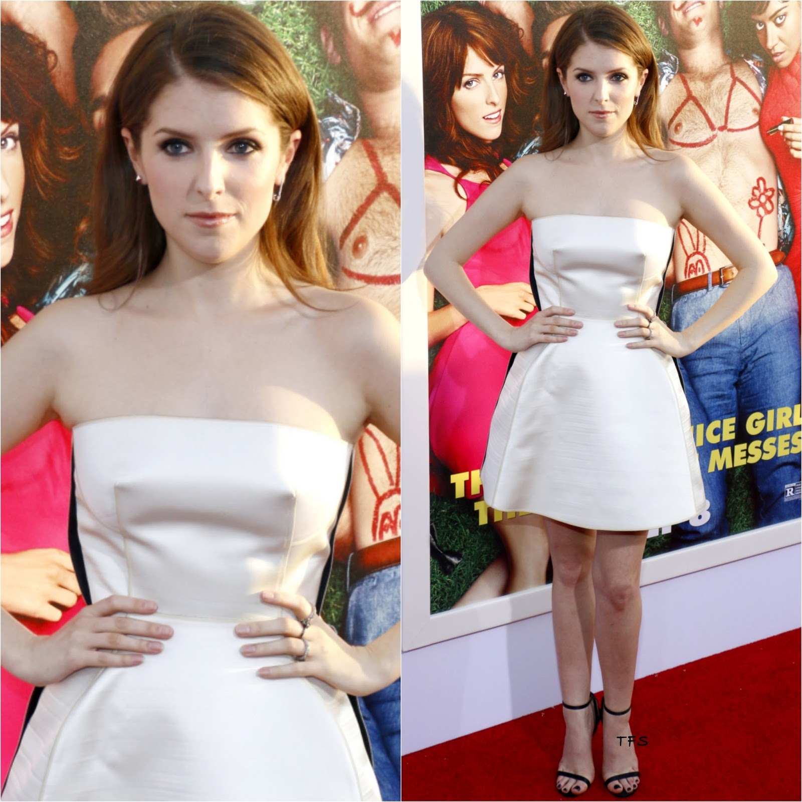 Mike And Dave Need Wedding Dates Plugged In: Anna Kendrick In Calvin Klein Collection At The 'Mike And