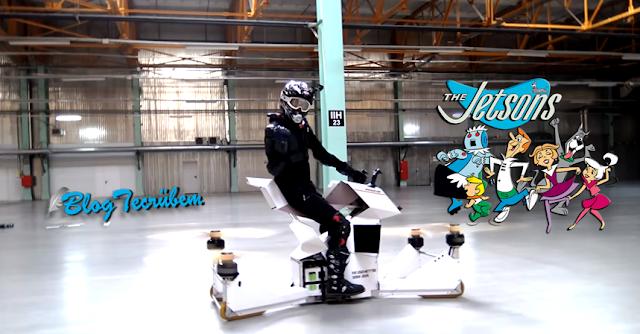 Hoverbike, drone hava bisikleti
