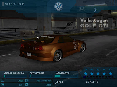 free download games: Need For Speed Underground 1 PC Game ...