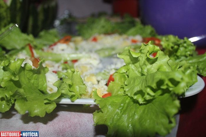alface, salada, delicia