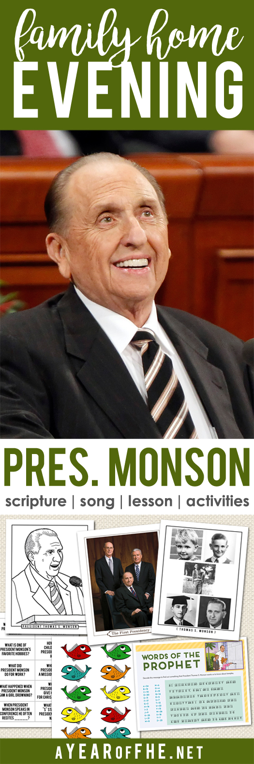a year of fhe year 02 lesson 39 president thomas s monson lds
