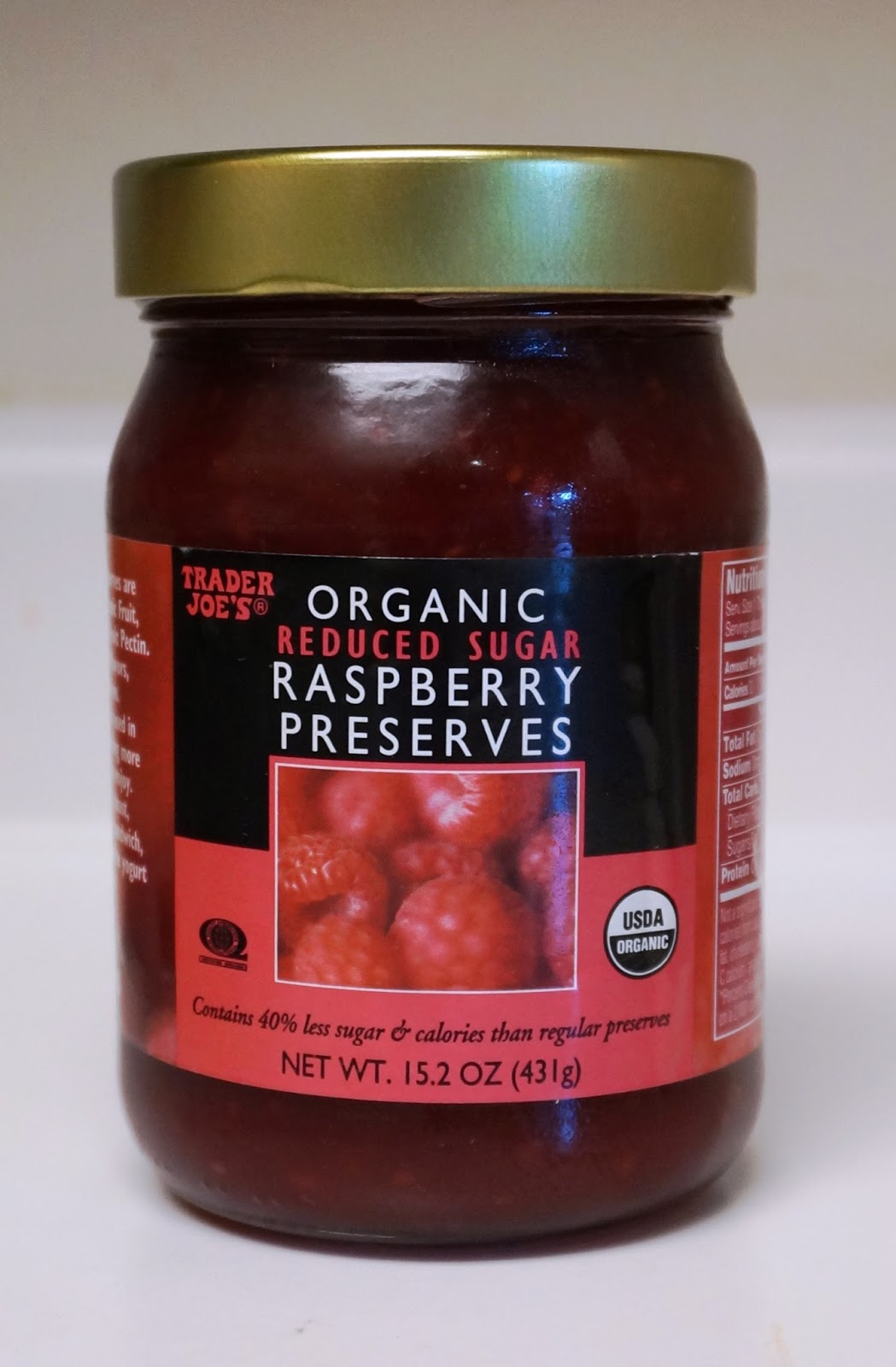 Exploring Trader Joe's: Trader Joe's Organic Reduced Sugar ...
