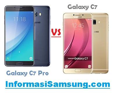 Perbandingan Samsung Galaxy C7 Pro vs C7