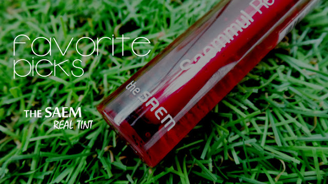Favorite Picks: Lip tint - The Saem Saemmul Real Tint