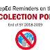 Reminders on No Collection Policy EOSY 2018-2019