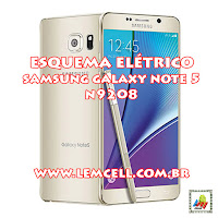 Esquema Elétrico Celular Smartphone Samsung Galaxy Note 5 N9208 Manual de Serviço  Service Manual schematic Diagram Cell Phone Smartphone Samsung Galaxy Note 5 N9208