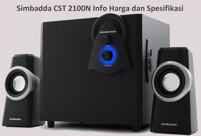 Harga Speaker Simbadda CST 2100N Aktif Spesifikasi