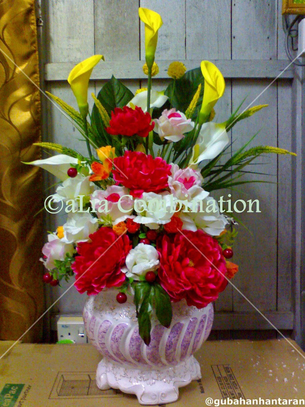 Gubahan Bunga Hiasan Ruang Tamu Desainrumahid