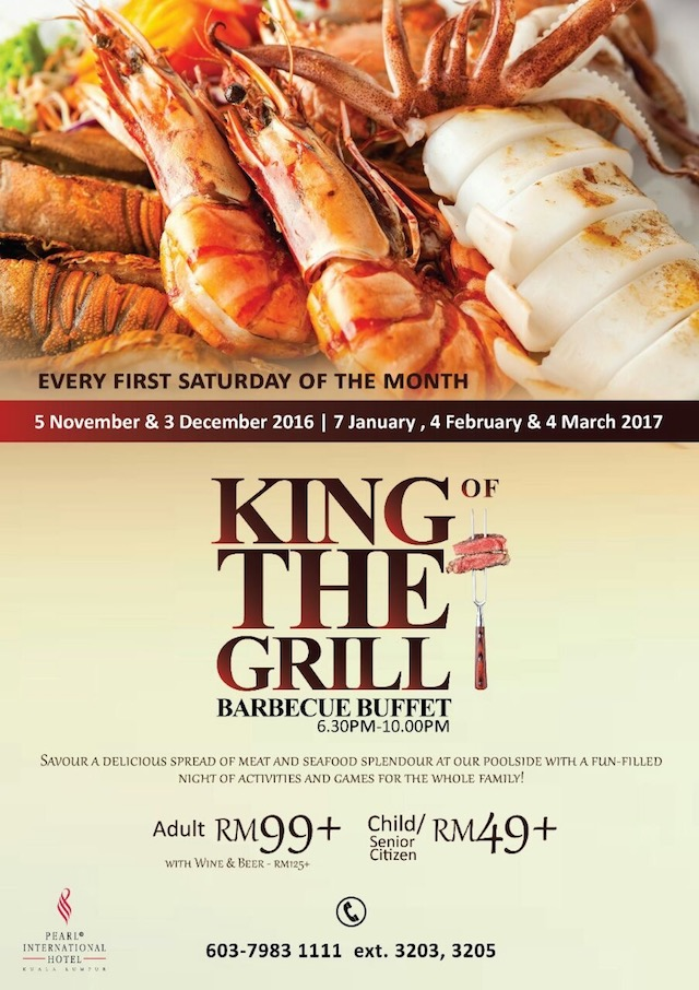 King Of The Grill Barbecue Buffet @ Pearl International Hotel Kuala Lumpur