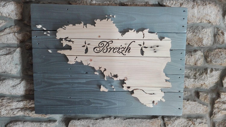 celtik palette tableau en bois de